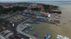 Aerial View of Belem do Para, Brazil Stock Footage