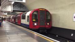 London Subway Station - HD - stock footage