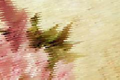 Stock Illustration of abstract golden feminine pattern for festive textures
