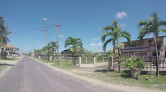 Driving through Suriname Stock Footage