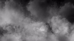clouds smoke 4k - stock footage