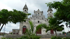 Guadalupe Church in Granada, Nicaragua, time lapse Stock Footage