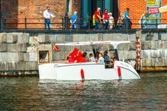 Gdansk. The boat trip - stock photo