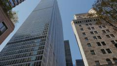 Federal Reserve Bank Building in New York City Stock Footage