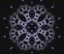 Abstract fractal image - stock illustration