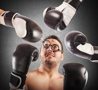 Loser boxer Stock Photos