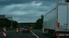 Autobahn Stock Footage