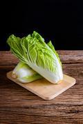 Fresh Chinese Cabbage - stock photo