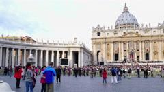 Vatican City Stock Footage