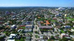 Aerial video Little Havana Miami Stock Footage