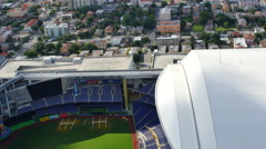 Aerial video Marlins Park 2 Stock Footage