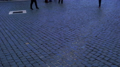 St. Peters Square on sunday Stock Footage