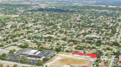 Aerial video North Miami 2 Stock Footage