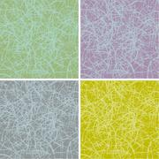 Grunge scratched surface background in multiple colors Stock Illustration