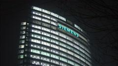Siemens Headquarters, Beijing, China Stock Footage