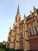 Catholic Church of Belarus - stock photo