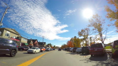 Conway New Hampshire 2 - stock footage