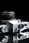 Stock Photo of old analogue camera