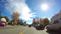 Conway New Hampshire - stock footage