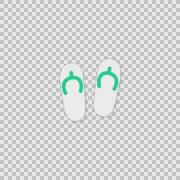 i Slippers Alpha animation clip for video or presentation - stock footage