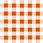 Lumberjack plaid pattern - stock illustration