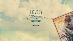 Lovely Moments - stock after effects