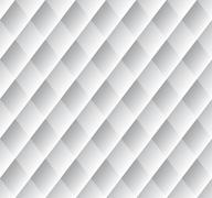 Abstract silver pattern with hazy diamonds Stock Illustration