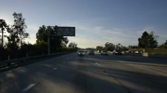 Driving Plates Multi Angle Freeway 05 CAM2 Rear I10 Los Angeles 60fps - stock footage