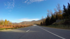 Driving through New Hampshire - stock footage