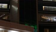 Stock Video Footage of Arhitecture - 2015: 4K V Lift in Lotta Plaza at New Arbat Street