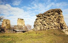 village of Krevo, Belarus. - stock photo