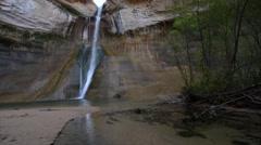 Calf Creek Falls - stock footage