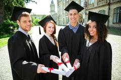 Stock Photo of Concept for student graduation day