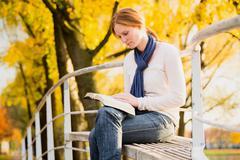 Bible Study in a Park Stock Photos