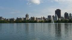 New York City Central Park fountain  4K UHD Stock Footage