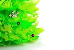Stock Photo of Christmas tree isolated