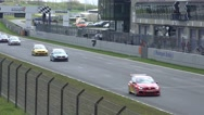 Stock Video Footage of 4k Volkswagen Golf Cup car racing race course Germany