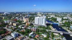 Miami River Little Havana 3 Stock Footage