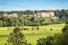 Castle Burghausen - stock photo
