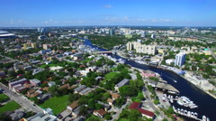 Miami River Little Havana 5 Stock Footage