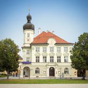 town hall Altoetting - stock photo