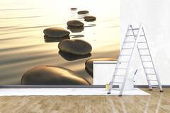 photo mural - stock illustration