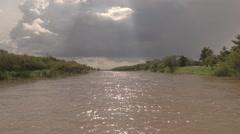 River Solimões - Brasil Stock Footage
