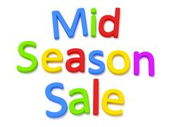 season sale - stock illustration