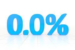 zero percent - stock illustration