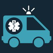 Stock Illustration of Ambulance Car Icon