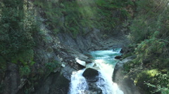 Waterfall krimml austria Stock Footage
