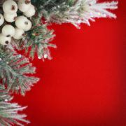 Christmas Border Design - stock photo