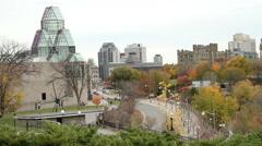 Ottawa Skyline in Autumn 2015 Stock Footage