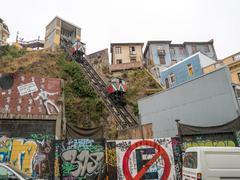 Artilleria funicular railway - stock photo